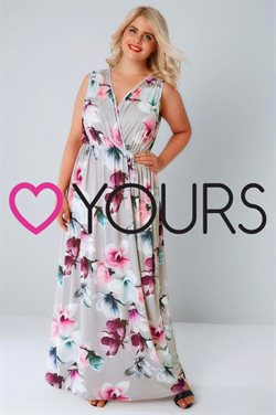 Maxi dress offers in the Yours Clothing catalogue in London
