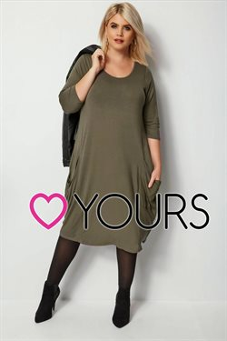 Yours Clothing offers in the Watford catalogue