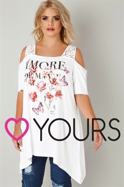 Yours Clothing catalogue in Warrington ( More than a month )
