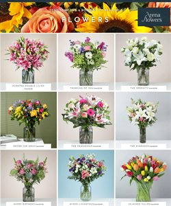Arena Flowers catalogue ( Expires tomorrow )