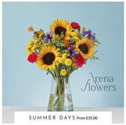 Arena Flowers offers in the Arena Flowers catalogue ( 15 days left)