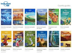 Lonely Planet offers in the Lonely Planet catalogue ( More than a month)