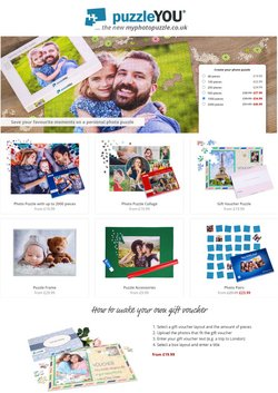 Books & Stationery offers in the My Photo Puzzle catalogue ( 28 days left)