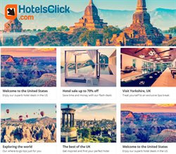Hotels Click catalogue ( 7 days left )