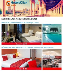 Travel offers in the Hotels Click catalogue in Newport ( 2 days ago )