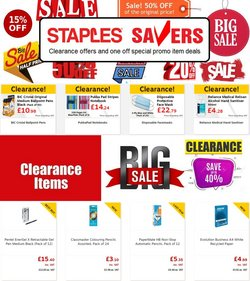 Electronics offers in the Staples catalogue ( 12 days left)
