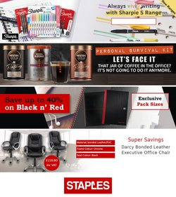 Staples offers in the Staples catalogue ( Expired)