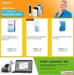 Electronics offers in the Staples catalogue ( 2 days left)