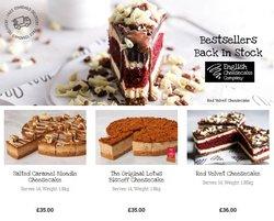 The English Cheesecake Company catalogue ( 3 days ago )