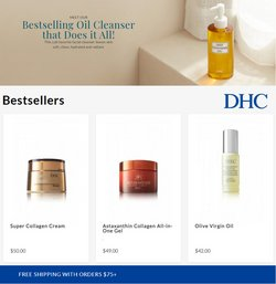DHC Beauty offers in the DHC Beauty catalogue ( 9 days left)