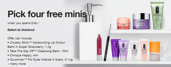 Clinique coupon ( Expires today )