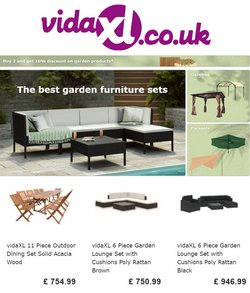 Vida XL catalogue ( Published today  )