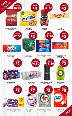 Shower offers in the SuperValu catalogue in London