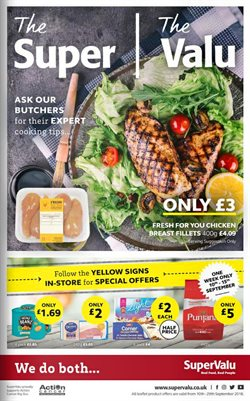 SuperValu offers in the Londonderry catalogue