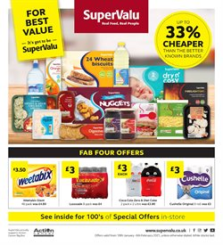 Supermarkets offers in the SuperValu catalogue in West Bromwich ( 11 days left )