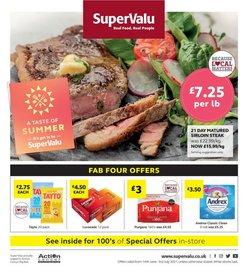 SuperValu offers in the SuperValu catalogue ( 15 days left)