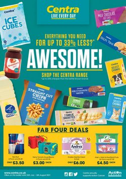 Centra offers in the Centra catalogue ( 14 days left)