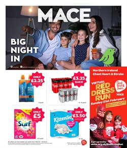 Supermarkets offers in the Mace catalogue in West Bromwich ( 12 days left )