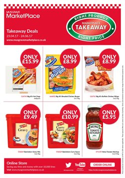Chicken offers in the Musgrave MarketPlace catalogue in Belfast