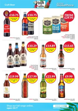 Beer offers in the Musgrave MarketPlace catalogue in Belfast