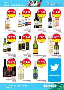 Champagne offers in the Musgrave MarketPlace catalogue in London