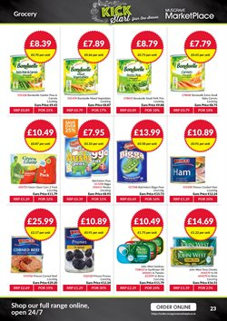Oil offers in the Musgrave MarketPlace catalogue in Belfast