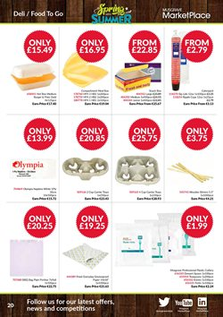 HP offers in the Musgrave MarketPlace catalogue in Worthing