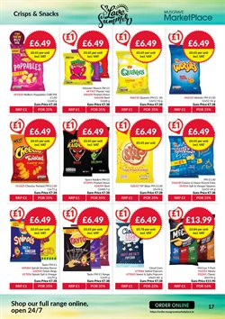 Pasta offers in the Musgrave MarketPlace catalogue in London