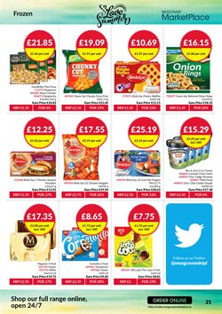 Pizza offers in the Musgrave MarketPlace catalogue in London