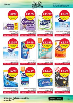 Paper offers in the Musgrave MarketPlace catalogue in London