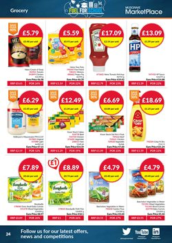 Peppa Pig offers in the Musgrave MarketPlace catalogue in London