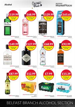 Gin offers in the Musgrave MarketPlace catalogue in London