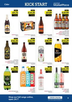 Cooler offers in the Musgrave MarketPlace catalogue in London
