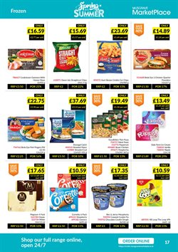 Frozen offers in the Musgrave MarketPlace catalogue in London