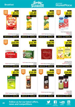 Oranges offers in the Musgrave MarketPlace catalogue in London
