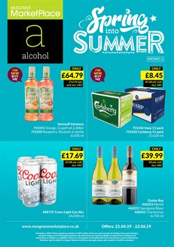 Supermarkets offers in the Musgrave MarketPlace catalogue in Cannock