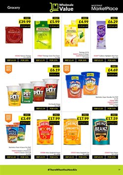 Offers of Heinz in Musgrave MarketPlace