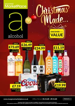 Supermarkets offers in the Musgrave MarketPlace catalogue in Aberdeen ( 2 days left )