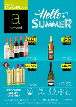 Supermarkets offers in the Musgrave MarketPlace catalogue ( 26 days left)