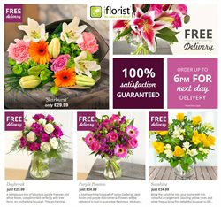 Home & Furniture offers in the iflorist catalogue in Glasgow ( 5 days left )
