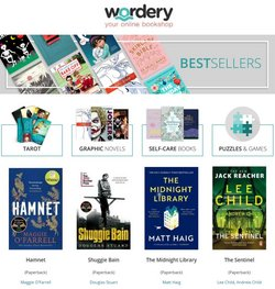 Wordery offers in the Wordery catalogue ( 26 days left)