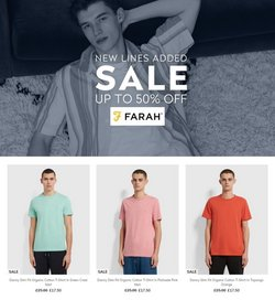 Farah offers in the Farah catalogue ( Published today)