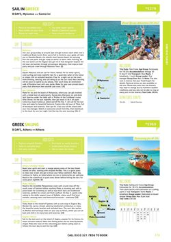 Santorini offers in the Sta Travel catalogue in London