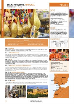 Marrakech offers in the Sta Travel catalogue in London