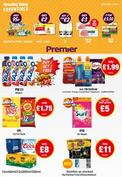 Premier Stores offers in the Premier Stores catalogue ( 28 days left)