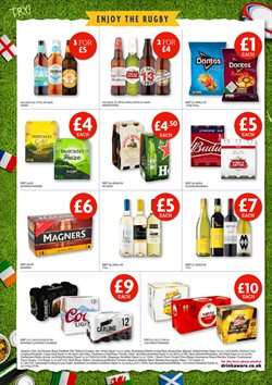 Rugby offers in the Filco Supermarkets catalogue in London