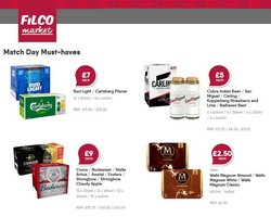 Supermarkets offers in the Filco Supermarkets catalogue ( Published today)