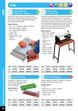 Tile offers in the Jewson catalogue in London