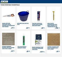 Home & Furniture offers in the Jewson catalogue in Swansea ( 3 days left )