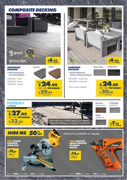 Offers of Decking in Jewson